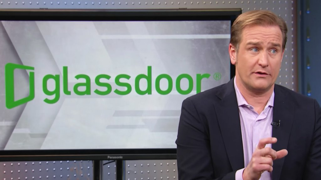 Robert 'Bob' Hohman, co-founder and chief executive officer at Glassdoor Inc.