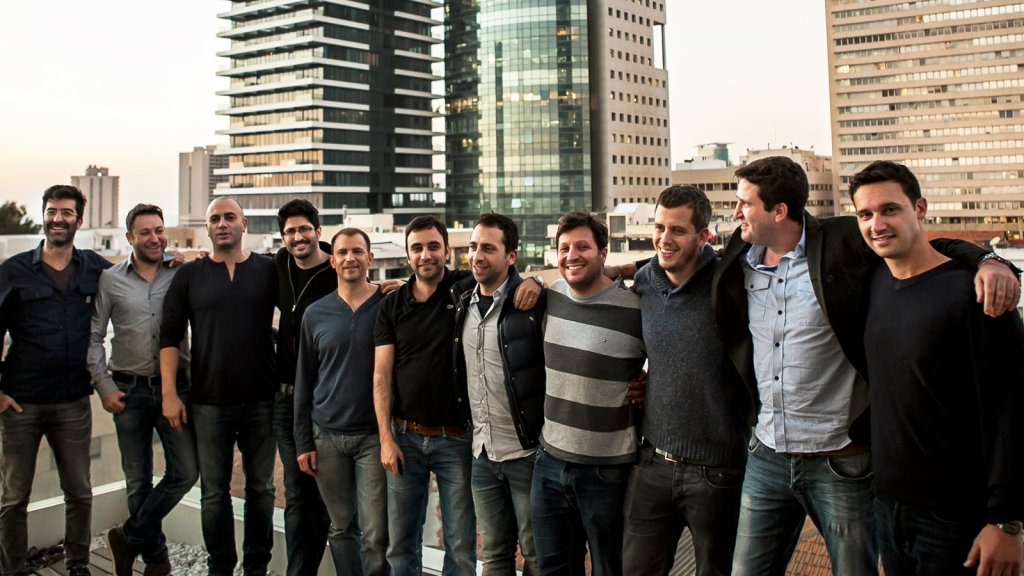 ironSource co-founders and team.