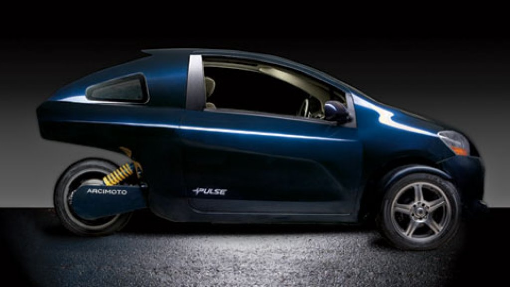 <strong>Highway Ready</strong> Arcimoto's Pulse LT has a top speed of 65 mph.