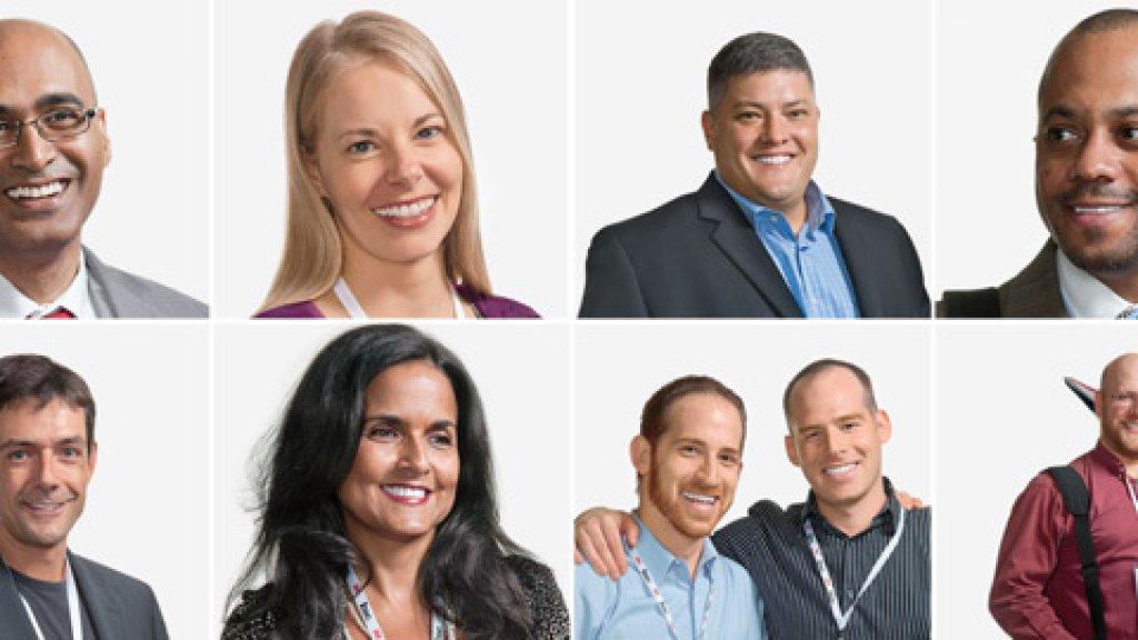<b>Let's Talk</b> From top left: Russell Sarder, Amy Kelly, J.J. Frazer, Ken Ampy; bottom: Thomas Gruner, Michele Sutton, Aaron and Jacob Dallek, Daniel Turner