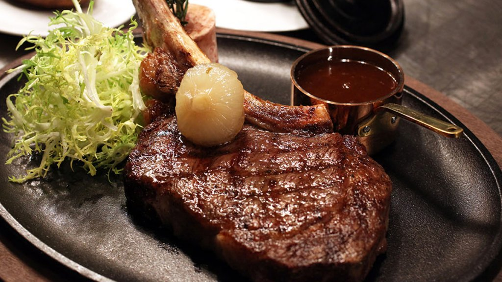 Reserve Cut, which is located near the New York Stock Exchange, is a kosher steak house and was started by Syrian immigrant Albert Allaham.