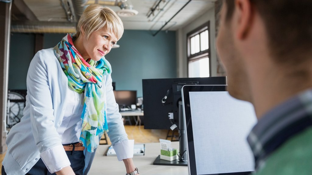 Reverse Mentoring: The Big Benefits to Learning From Younger Employees