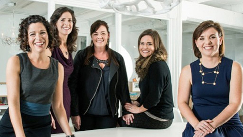 The Sway Group is led by Danielle Wiley (on left).