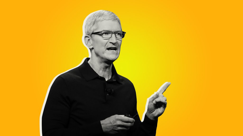 Tim Cook Has a Word of Advice for Jeff Bezos's Successor at Amazon