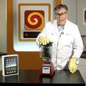 Will It Blend?  the video series, hosted by company founder Tom Dickson and aimed at showing the powerful ability of Blendtec's Total Blender for home use, priced at $400.