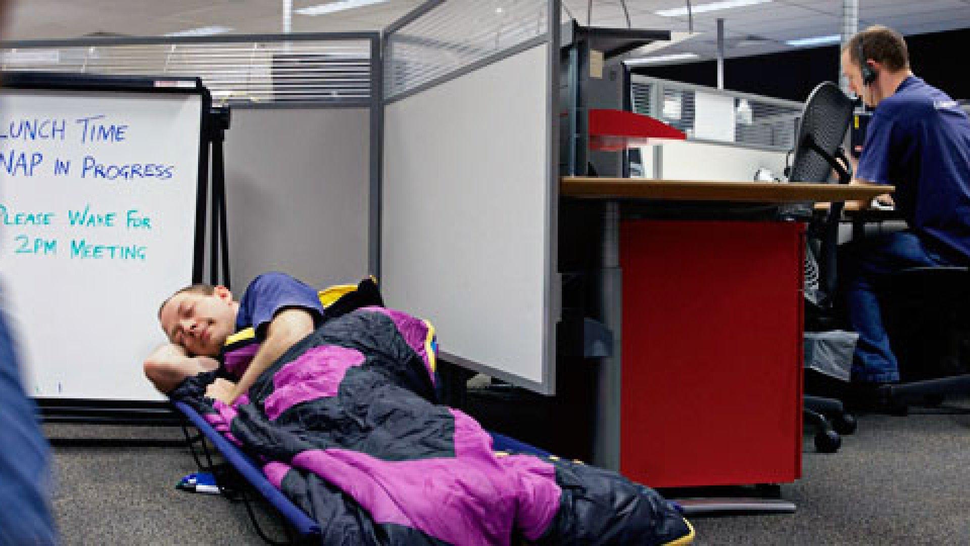 Sleep Deprived? Take a Nap at Work