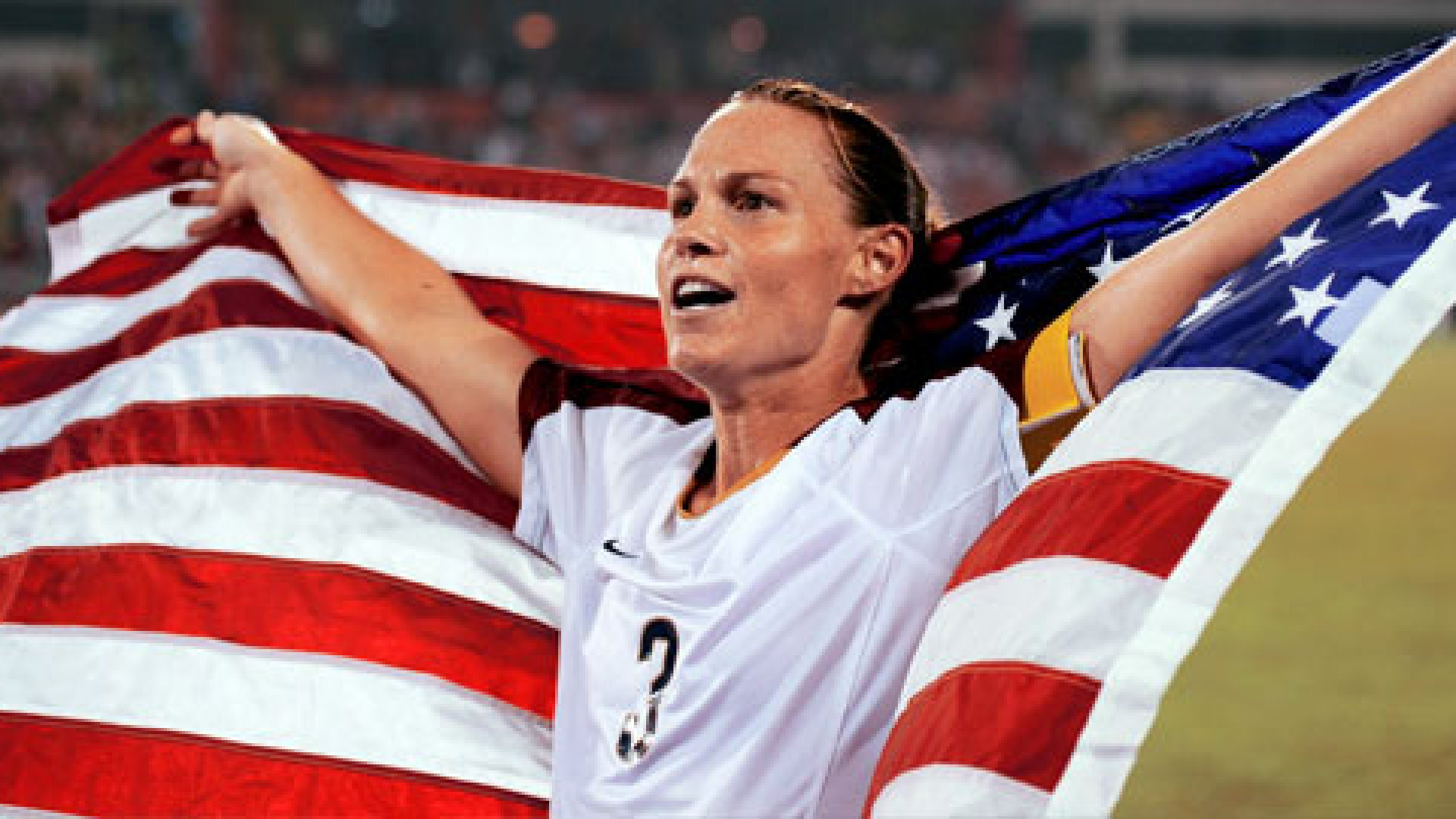 Christie Rampone led the U.S. women's soccer team to Olympic gold in 2008.