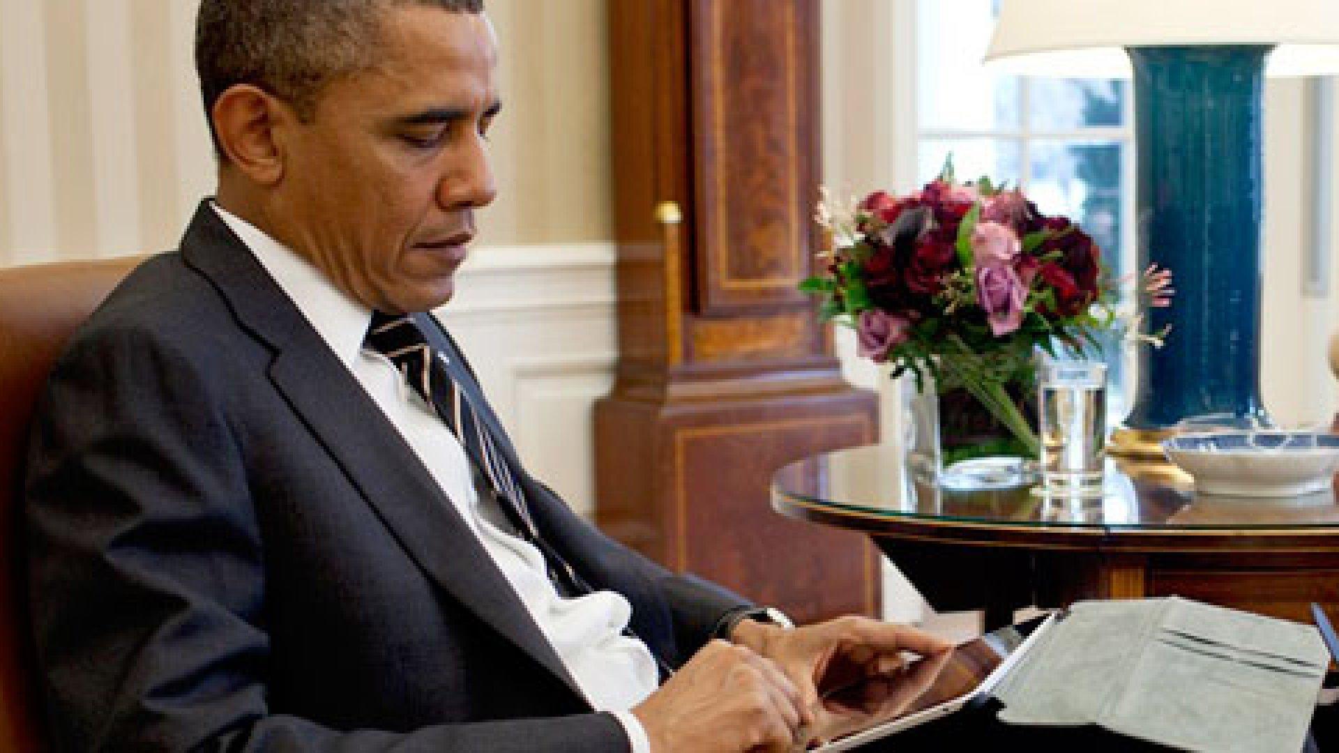 Learn From Obama's LinkedIn Profile