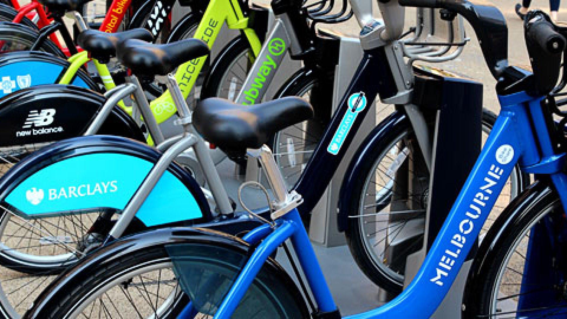 Big Idea: City Bikes by Subscription