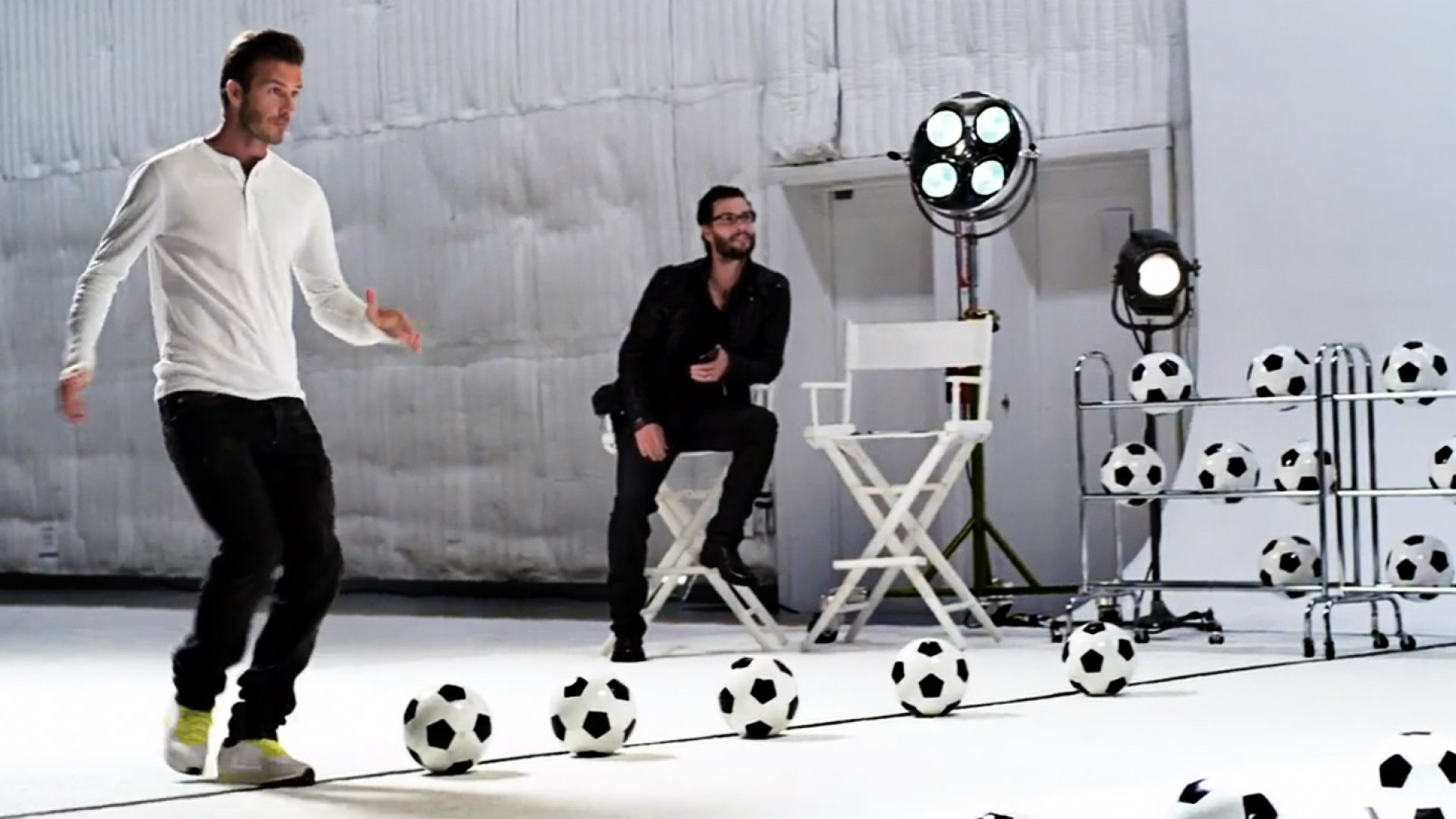 Samsung hired David Beckham to appear in its 2012 Olympics spots.