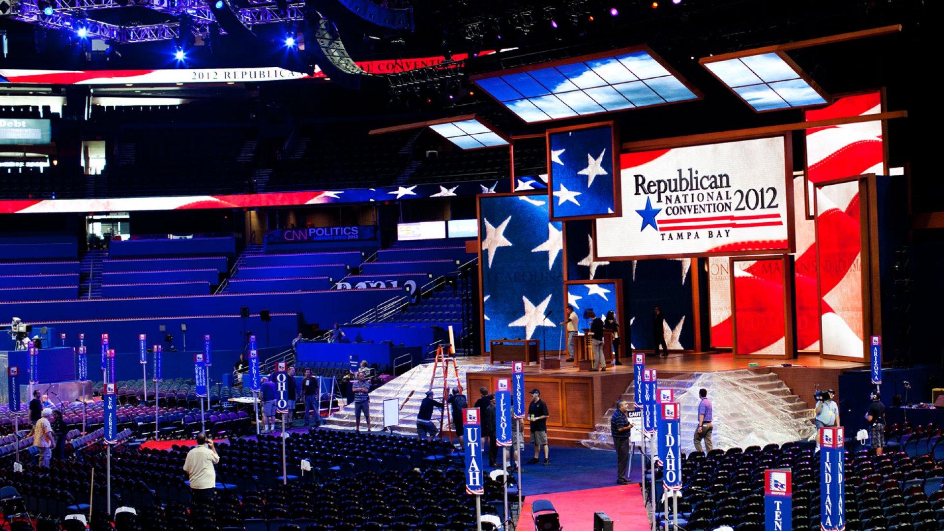 Entrepreneurship Front & Center at Republican National Convention