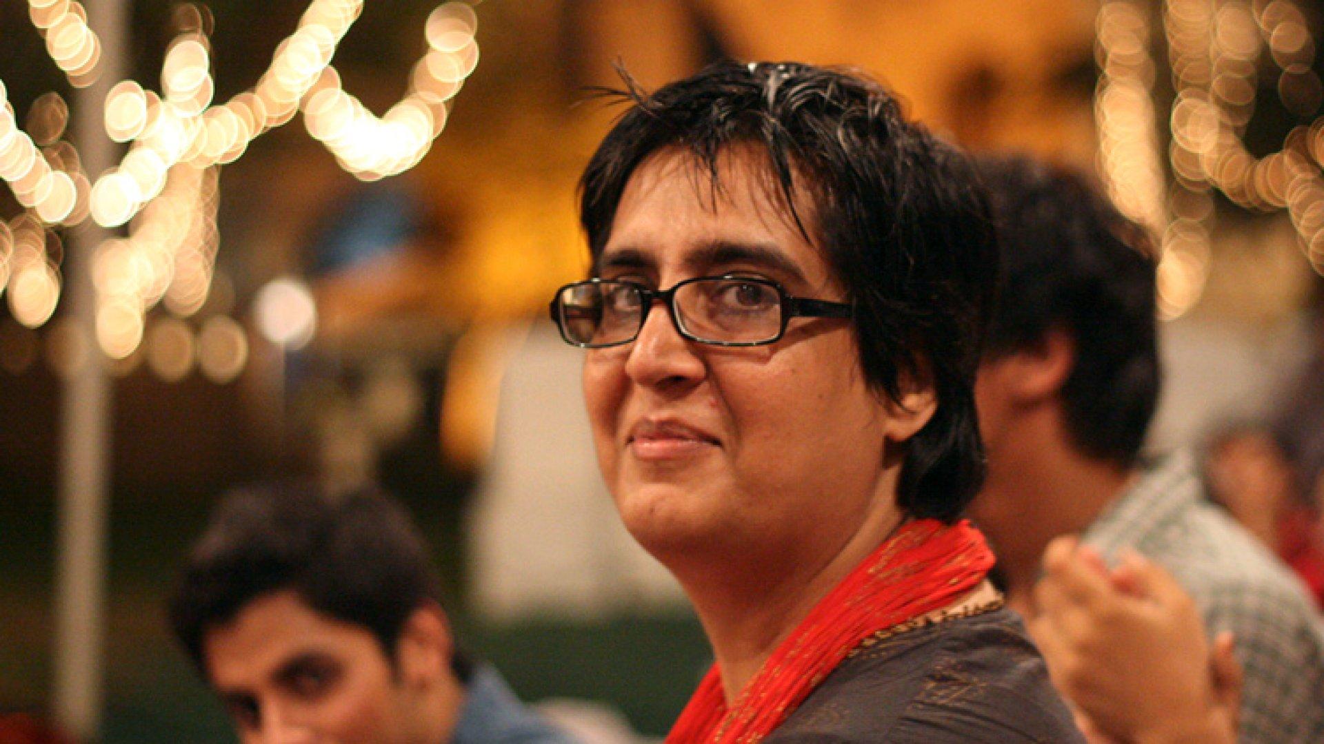 Tech Guru Sabeen Mahmud: 'Fear Is Just a Line in Your Head'