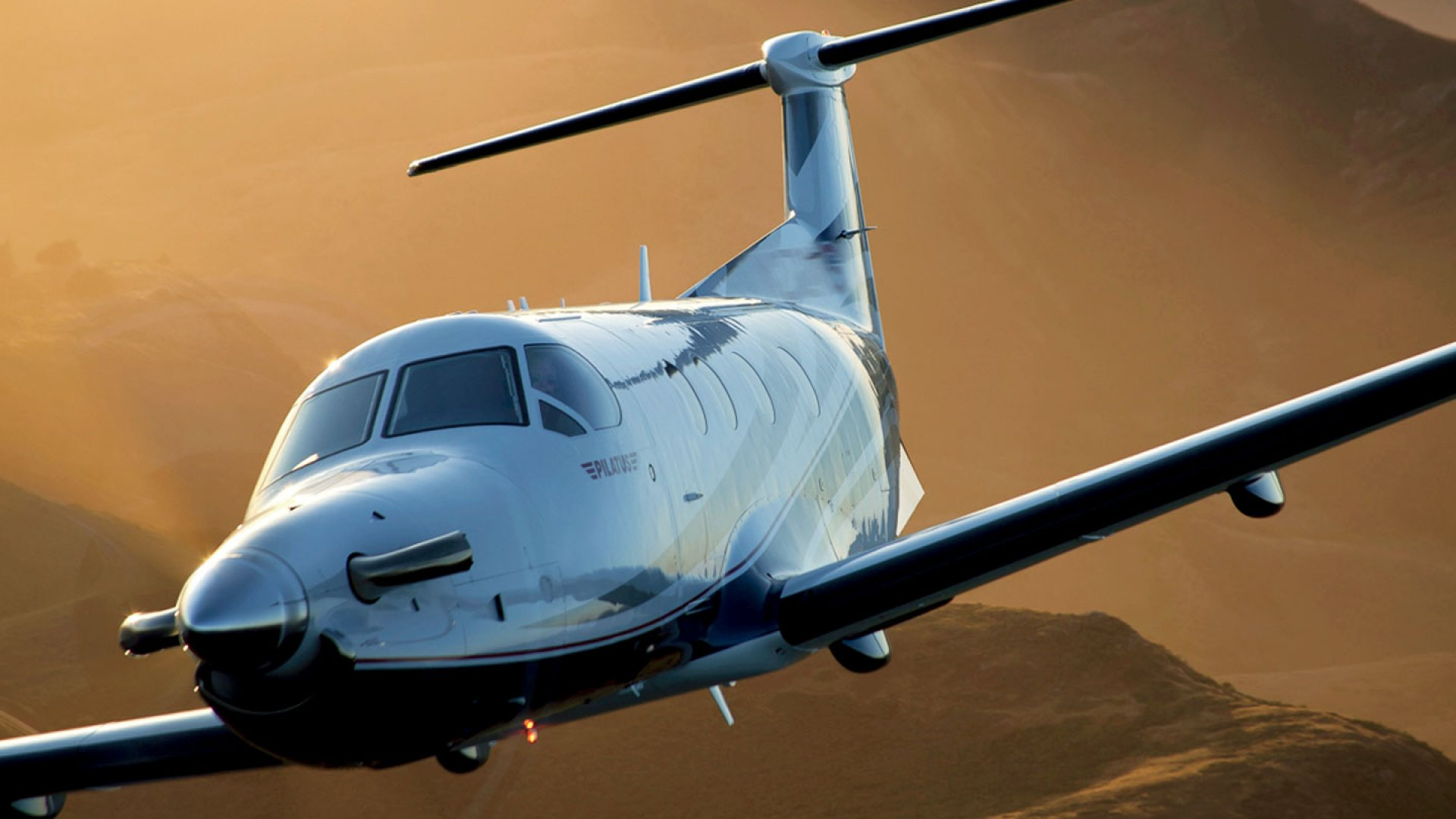 <b>Traveling Light:</b> Surf Air will have a fleet of these Pilatus Planes, which seat eight passengers.