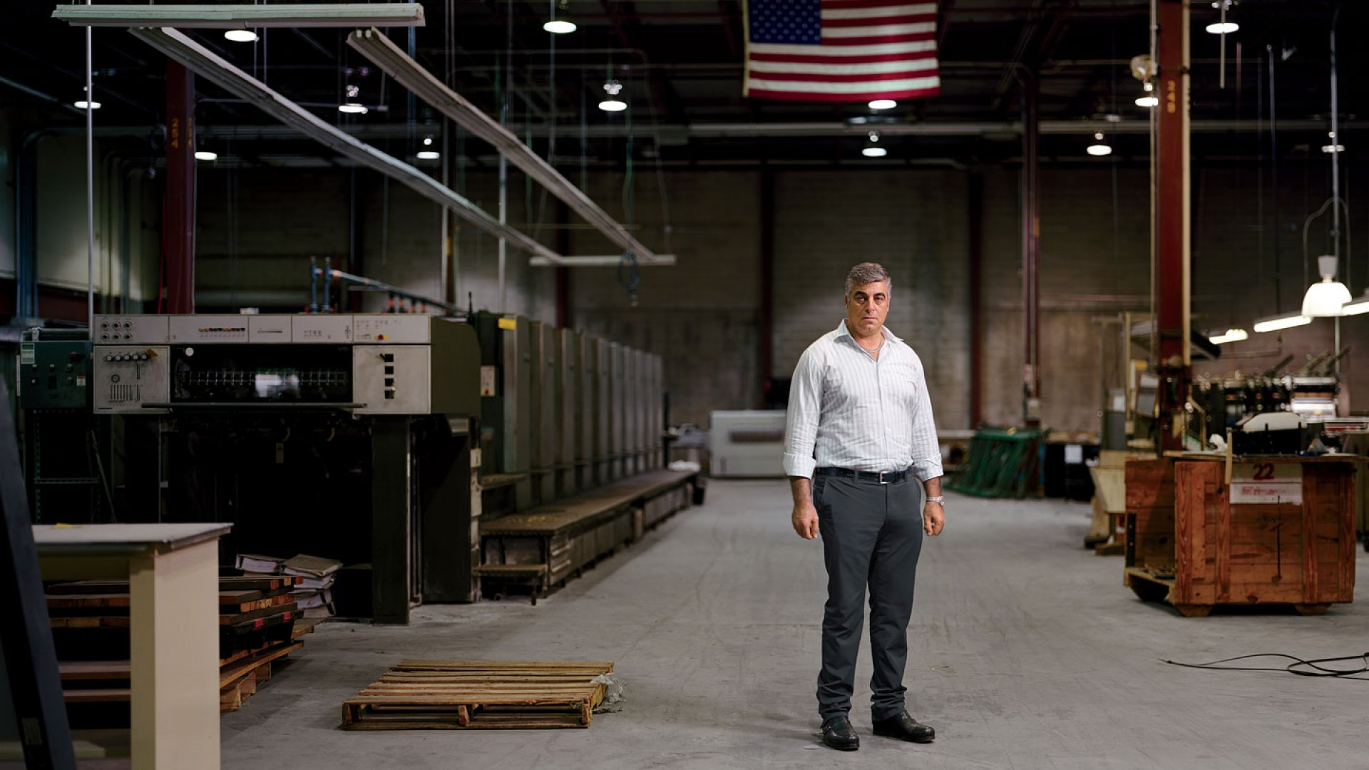 <b>The Printer:</b> In 2008, David Moyal's bank agreed to provide financing for a $3.8 million state-of-the-art printing press. A year later, after the press had been assembled and shipped, the bank pulled out.