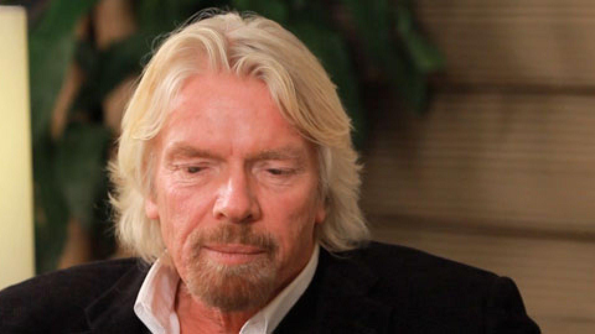 Richard Branson on Failure