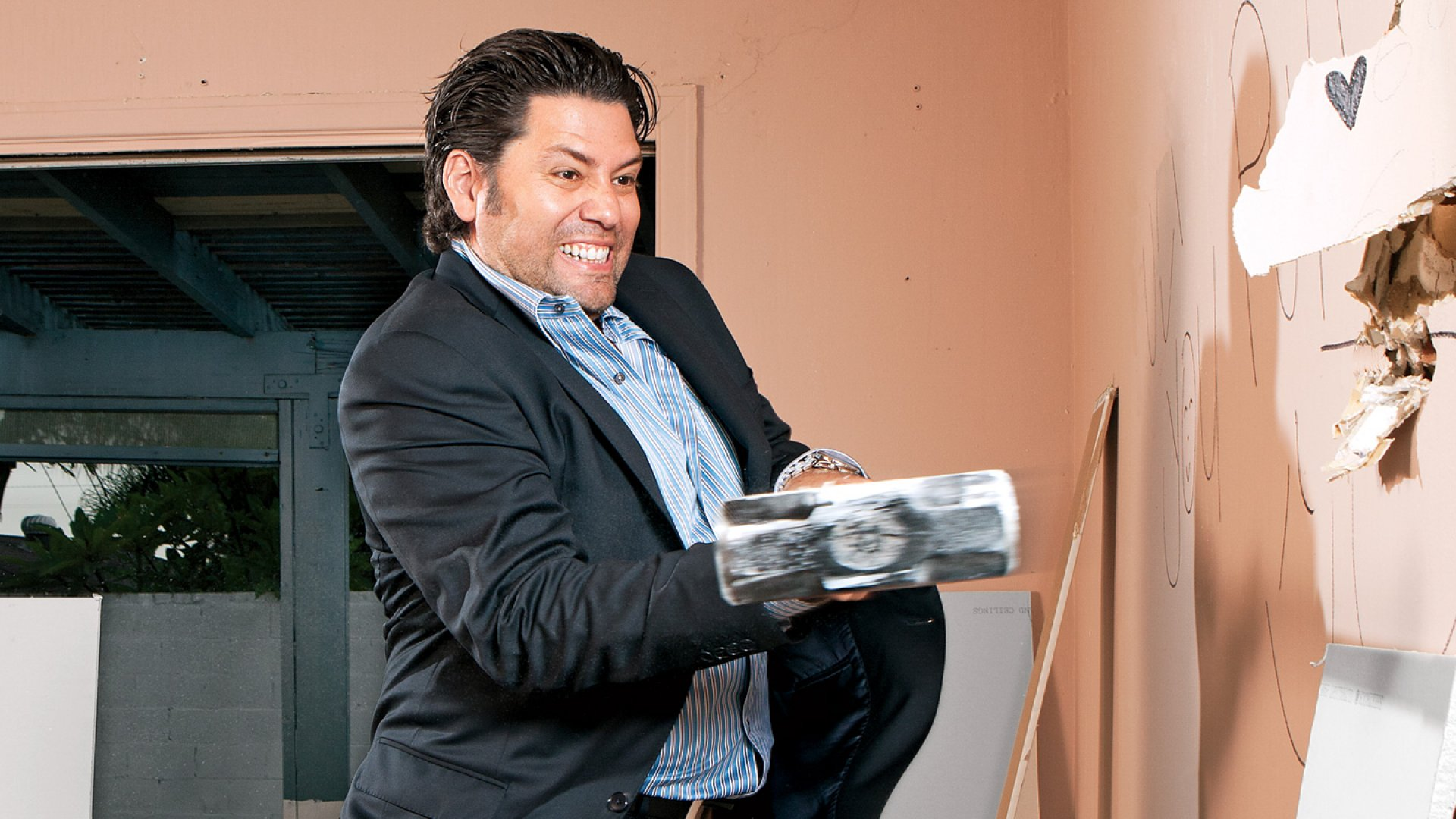 <b>Hit It</b> Armando Montelongo gets back to his roots in business.
