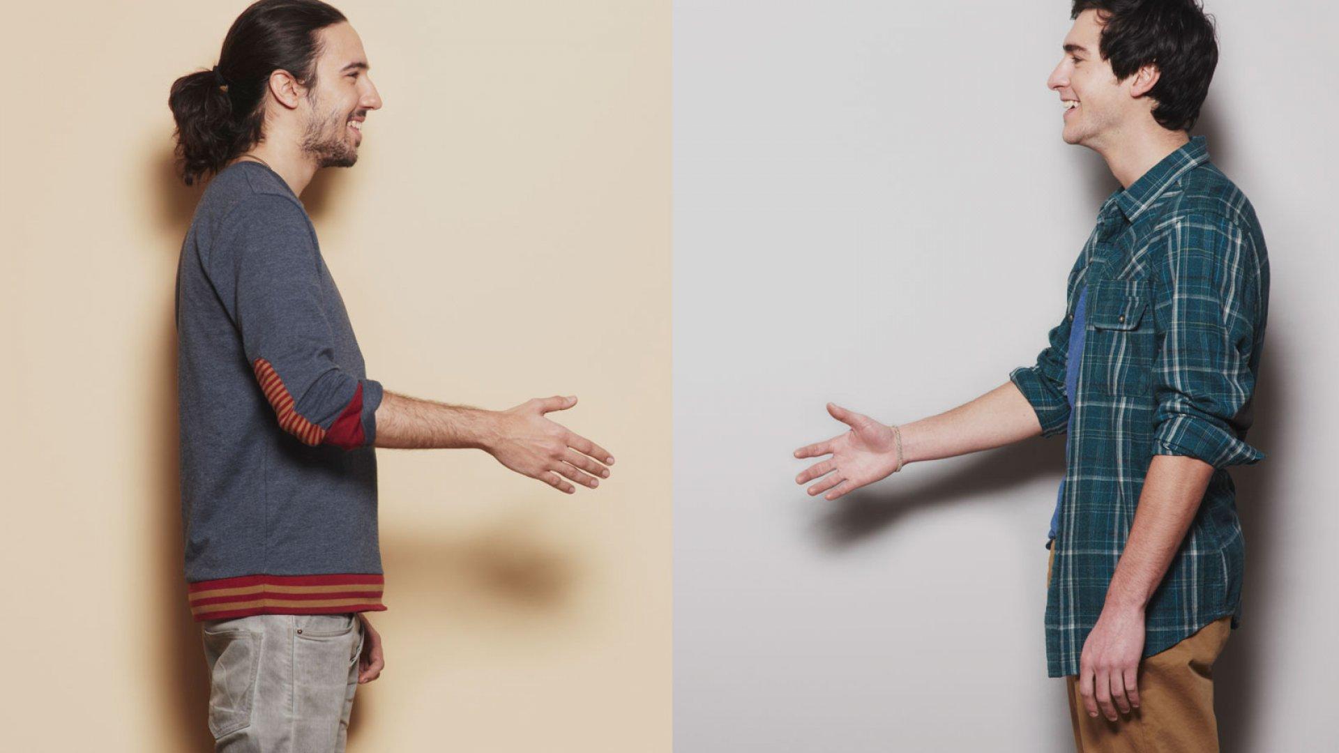 Divining the Secret Language of Handshakes
