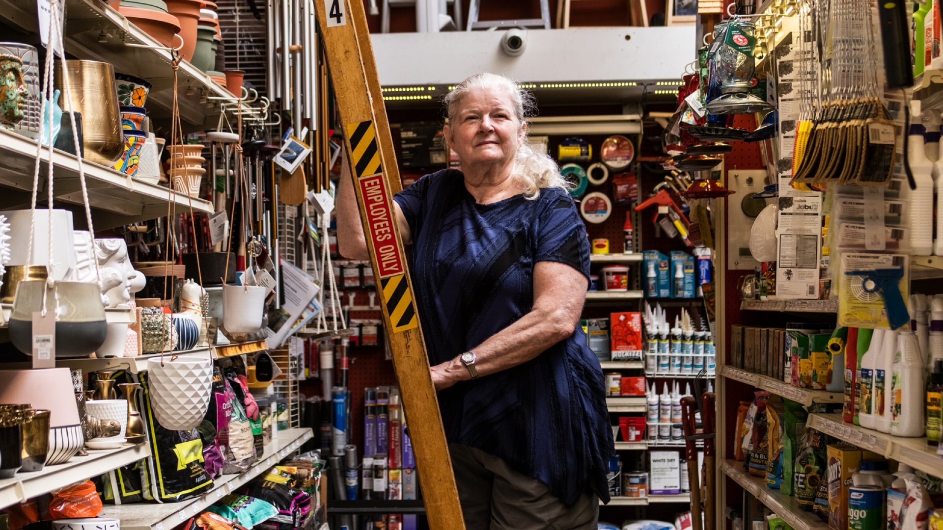 """Martha Asten has been CFO at Cliff's since 1973. With the death this year of her husband, Ernie Asten, the store's fourth-generation owner, """"I don't feel ready to retire,"""" she says. """"It's my home."""""""
