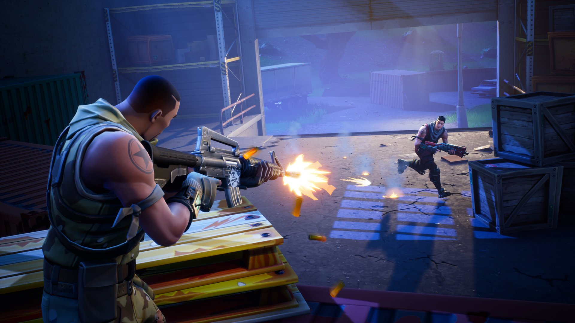 45 million people are playing the game Fortnite.