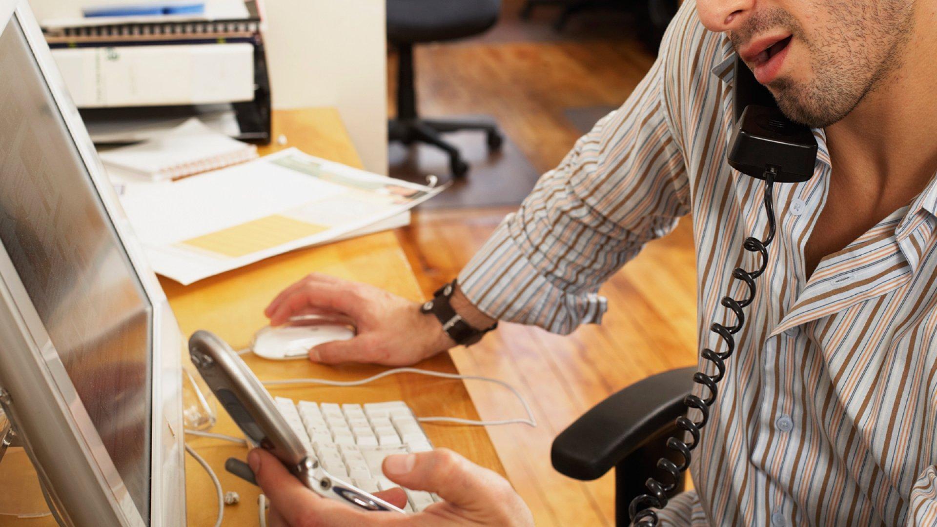 Beware Employees Who Boast About Multitasking