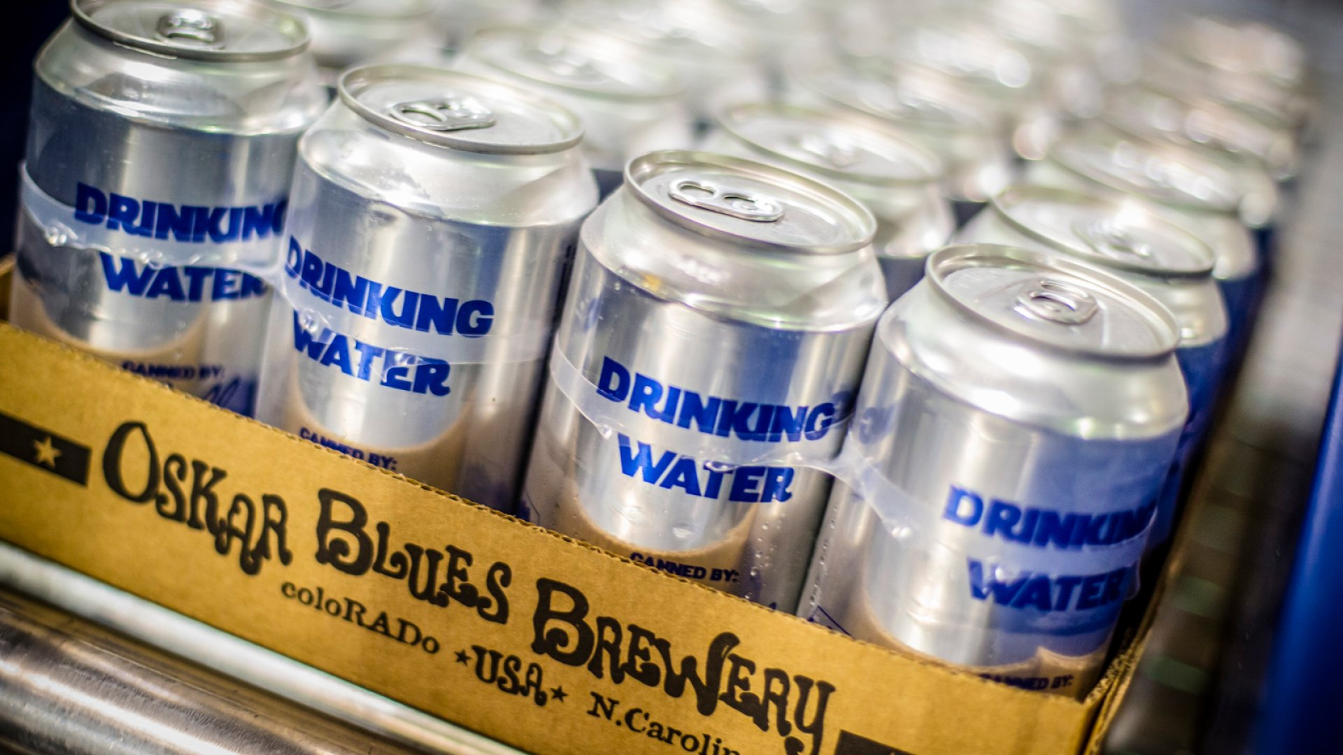 This Brewery Stopped Making Beer So It Could Send 100,000 Cans of Water to Flint