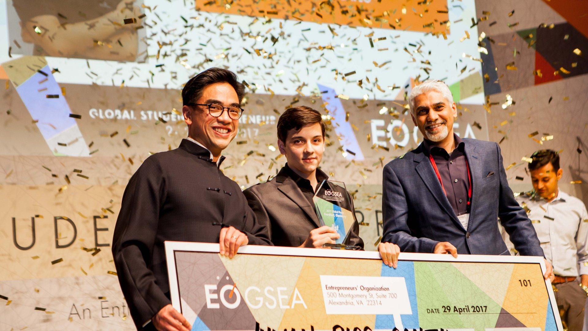 <b>The 2017 Global Student Entrepreneur of the Year is Revolutionizing Women's Health</b>