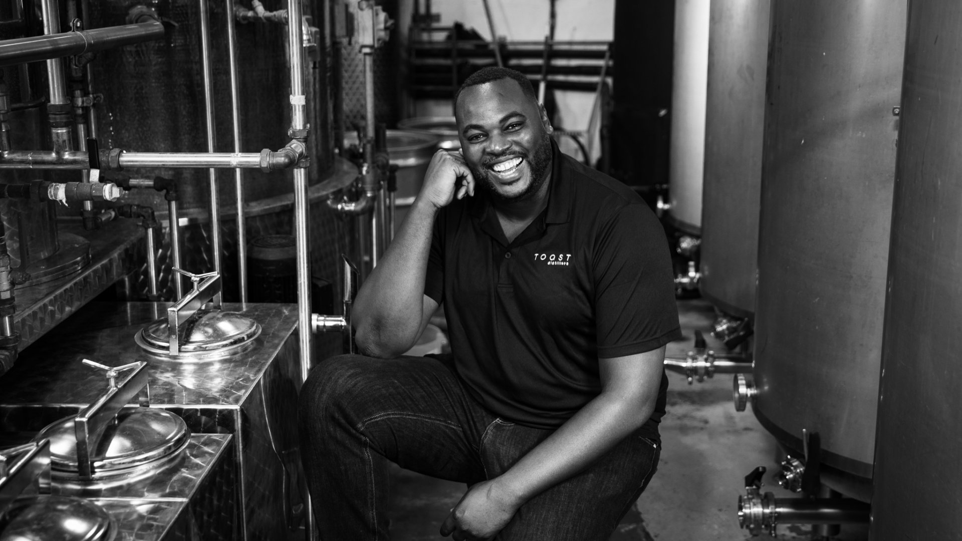 "Dieuveny ""DJ"" Louis, founder and CEO of Toast Distillers."