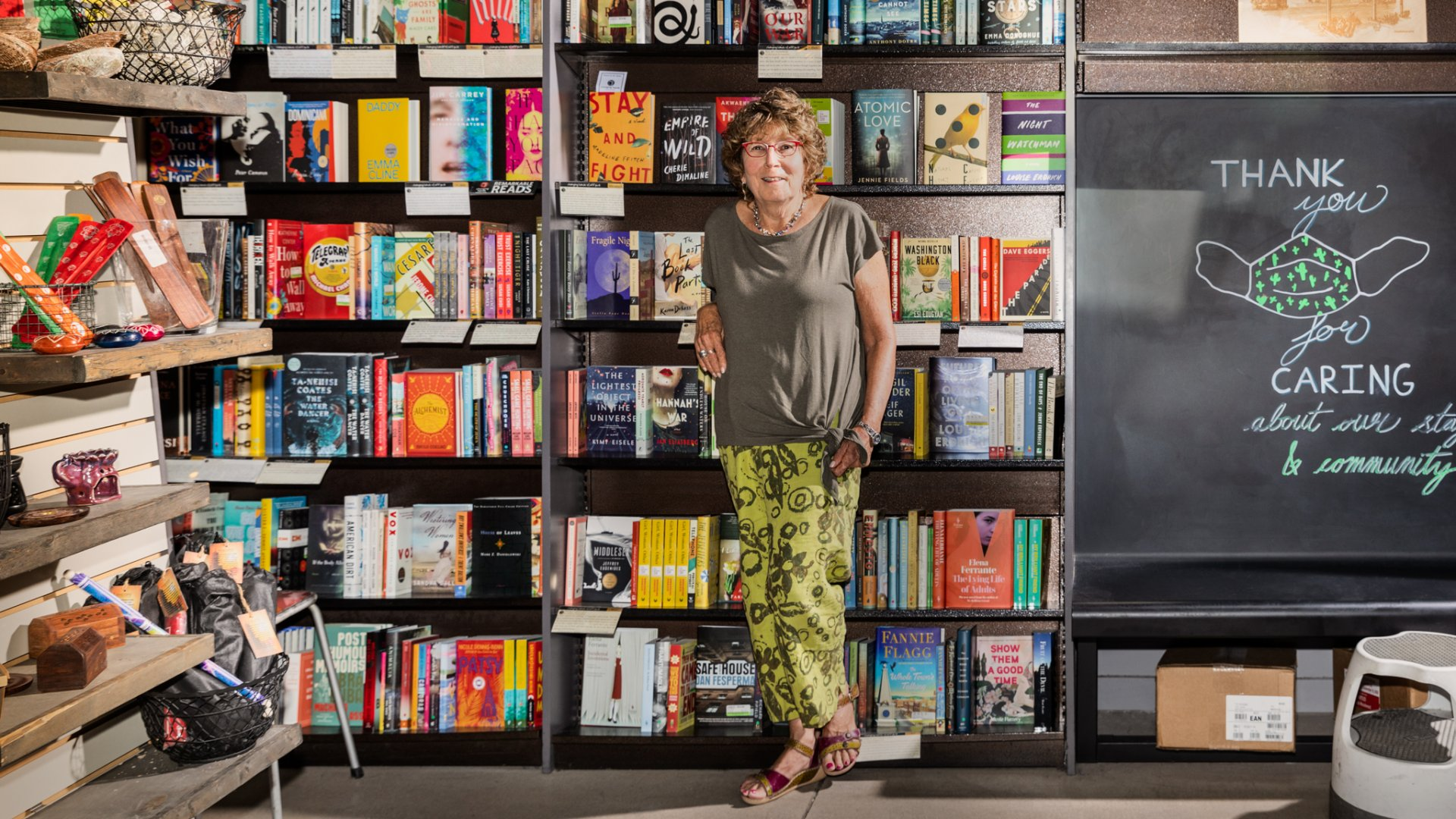 Gayle Shanks, co-owner of Changing Hands Bookstore.