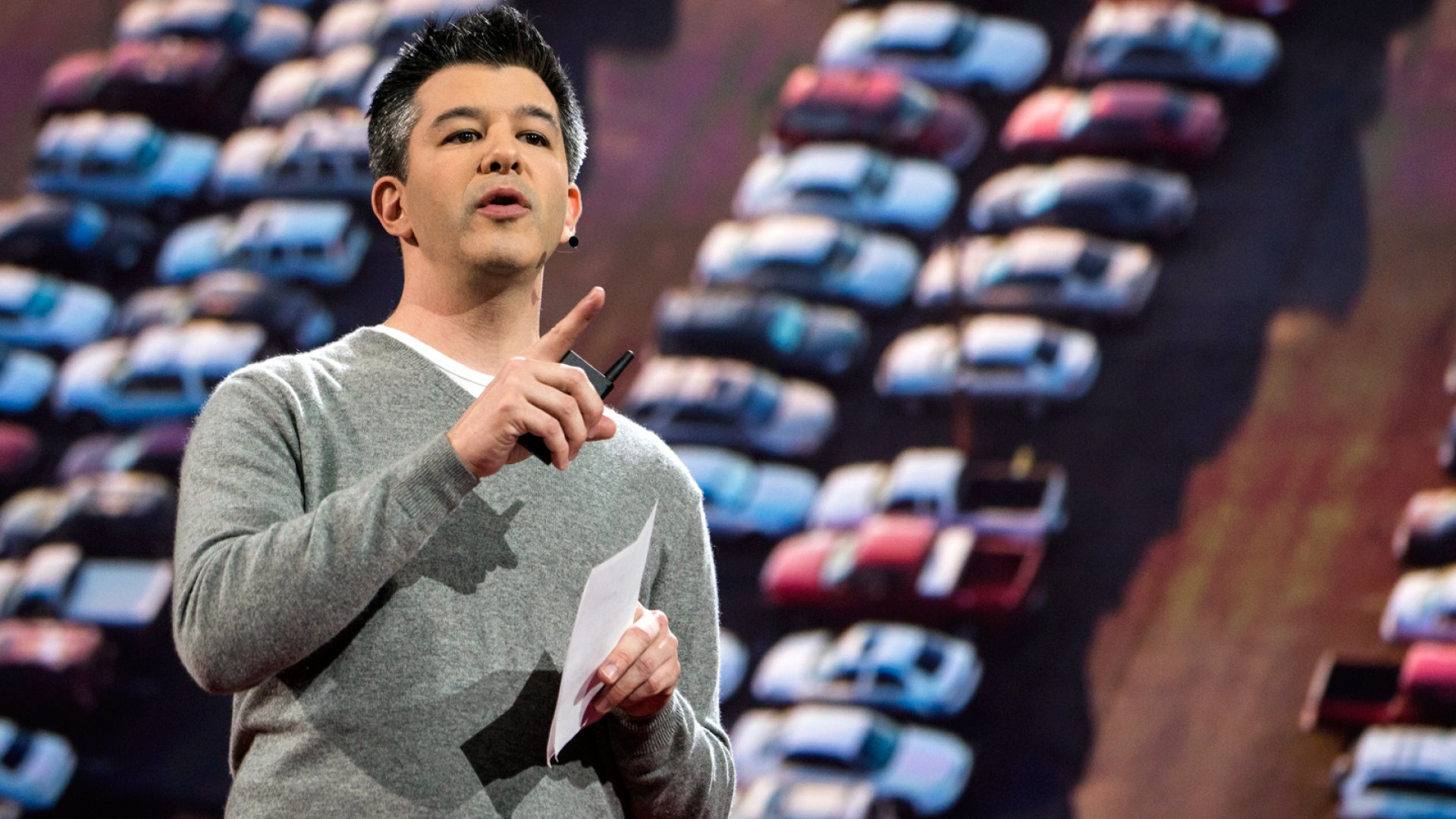 Travis Kalanick, co-founder and CEO of Uber.