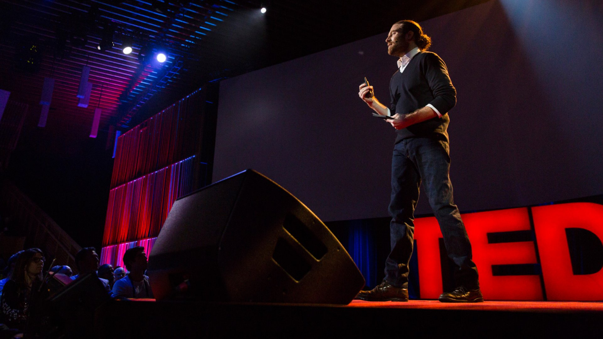 Chris Milk speaks at TED2016 - Dream, February 15-19, 2016, Vancouver Convention Center, Vancouver, Canada.