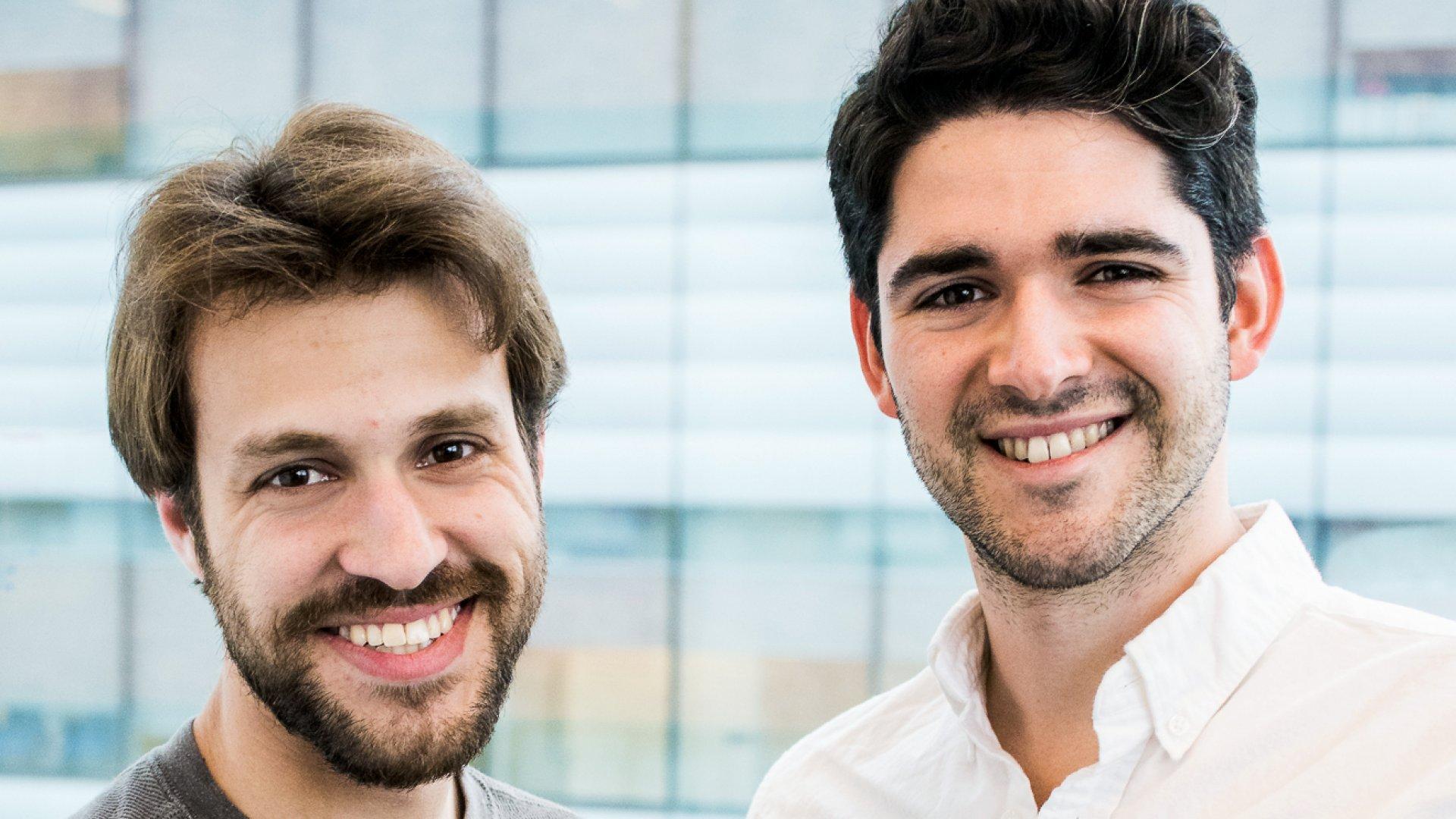 Ricardo Solorzano and Danny Cabrera.