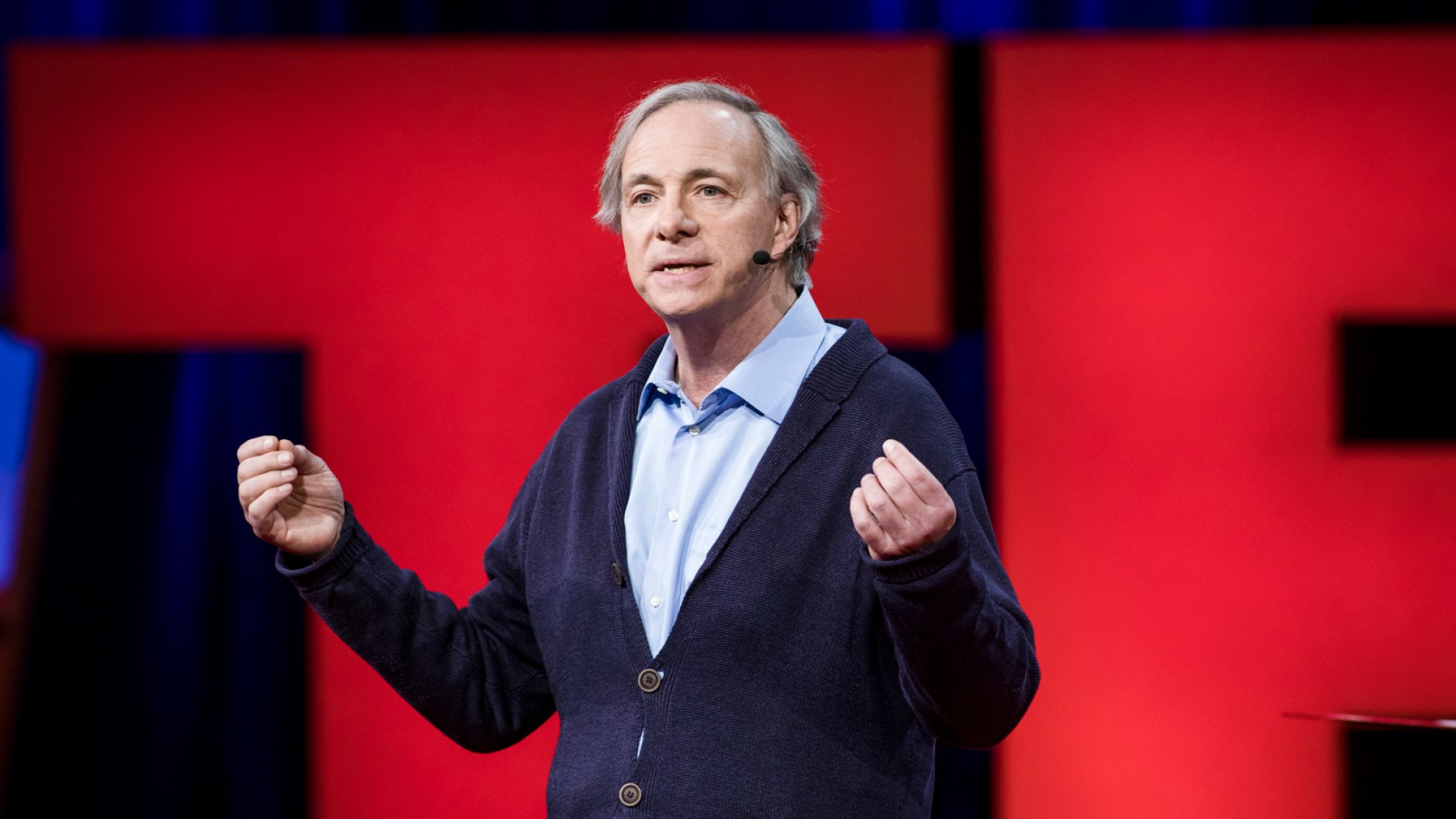 Ray Dalio speaks at TED2017 - The Future You.