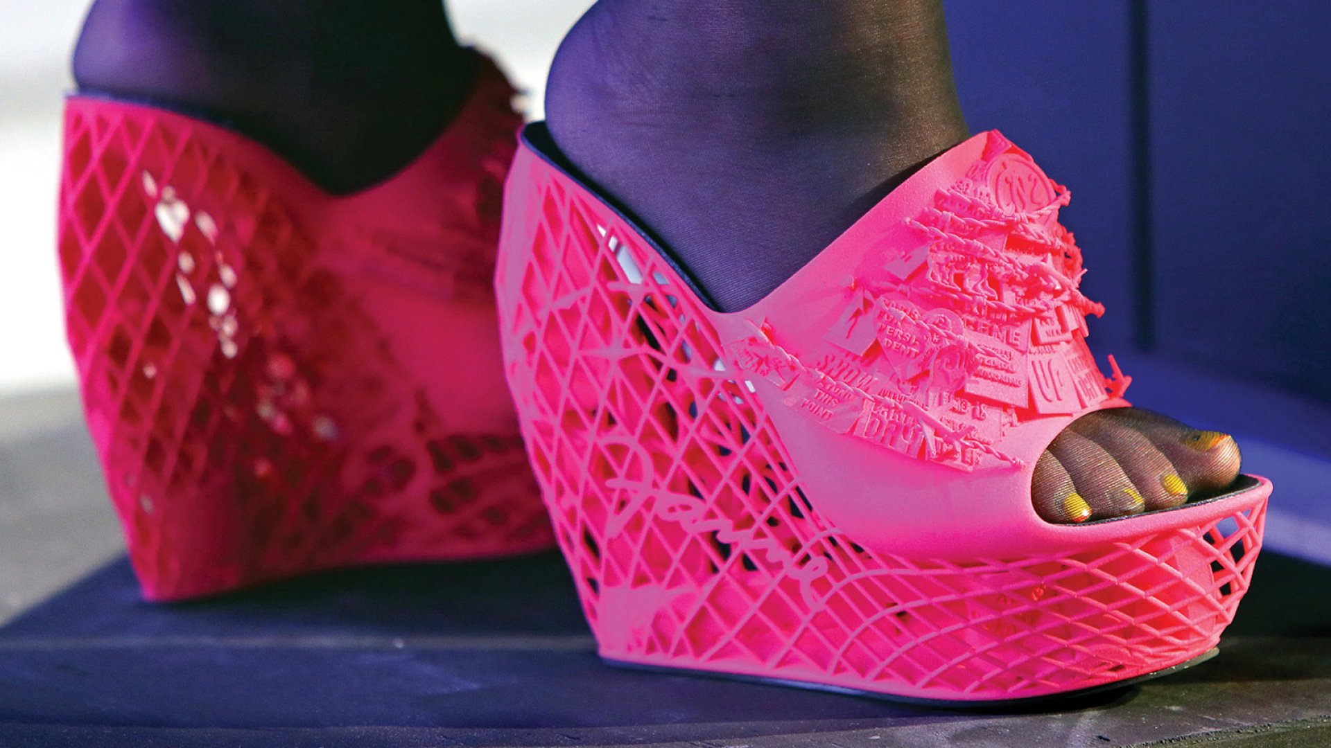 Walk a Mile in Her (3D-Printed) Shoes