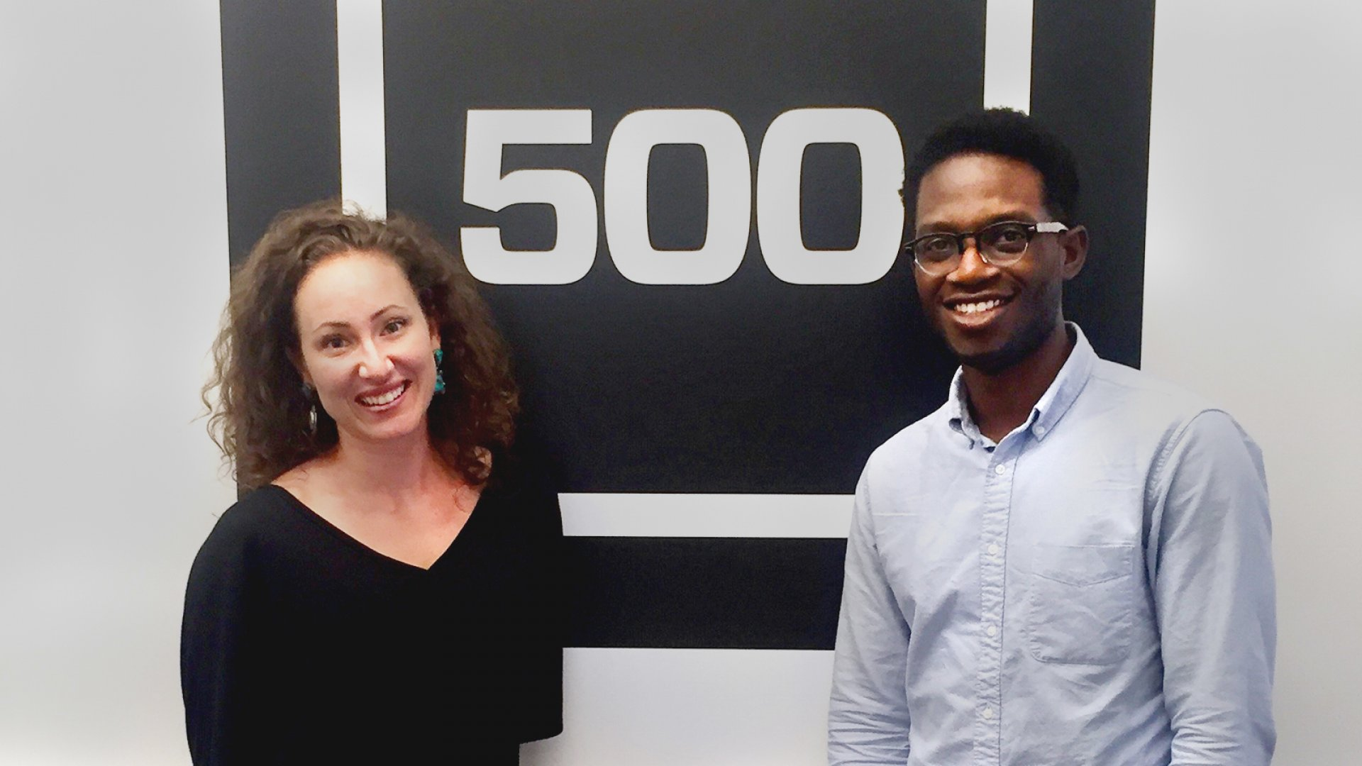 Coley Williams (left) and Dan Miller on Thursday launched Level, an iPhone app that lets users match with clinicians and do therapy sessions via video chat.