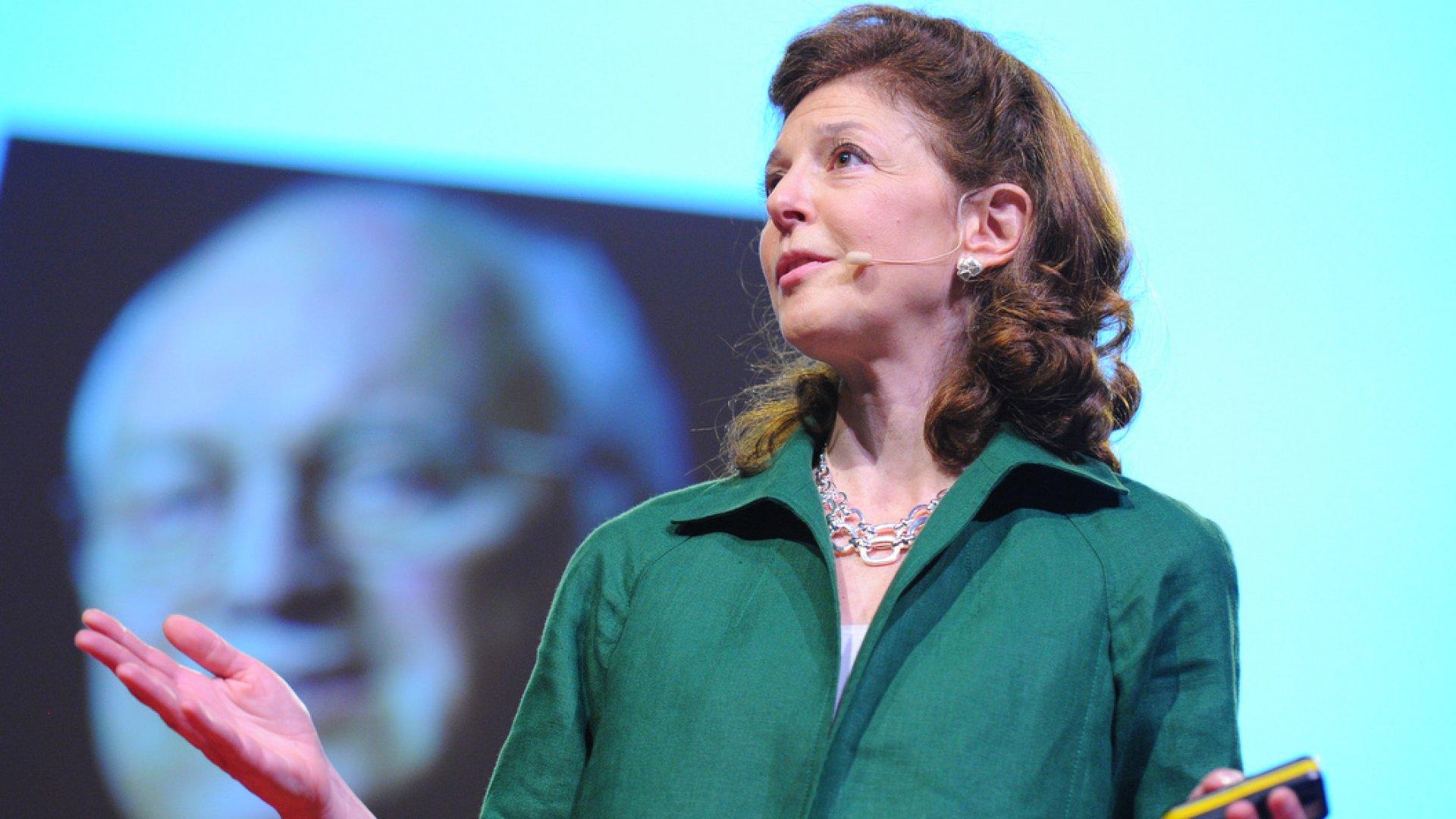 Pamela Meyer, lie detector, speaks during Session 6: The Dark Side, on July 13, during TEDGlobal 2011, July 11-15, 2011, in Edinburgh, Scotland.