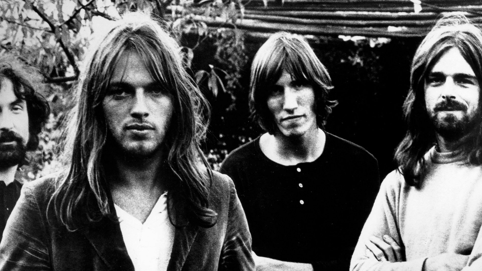 <strong>Money, It's A Gas:</strong> (group from left) Nick Mason, David Gilmour, Roger Waters and Rick Wright
