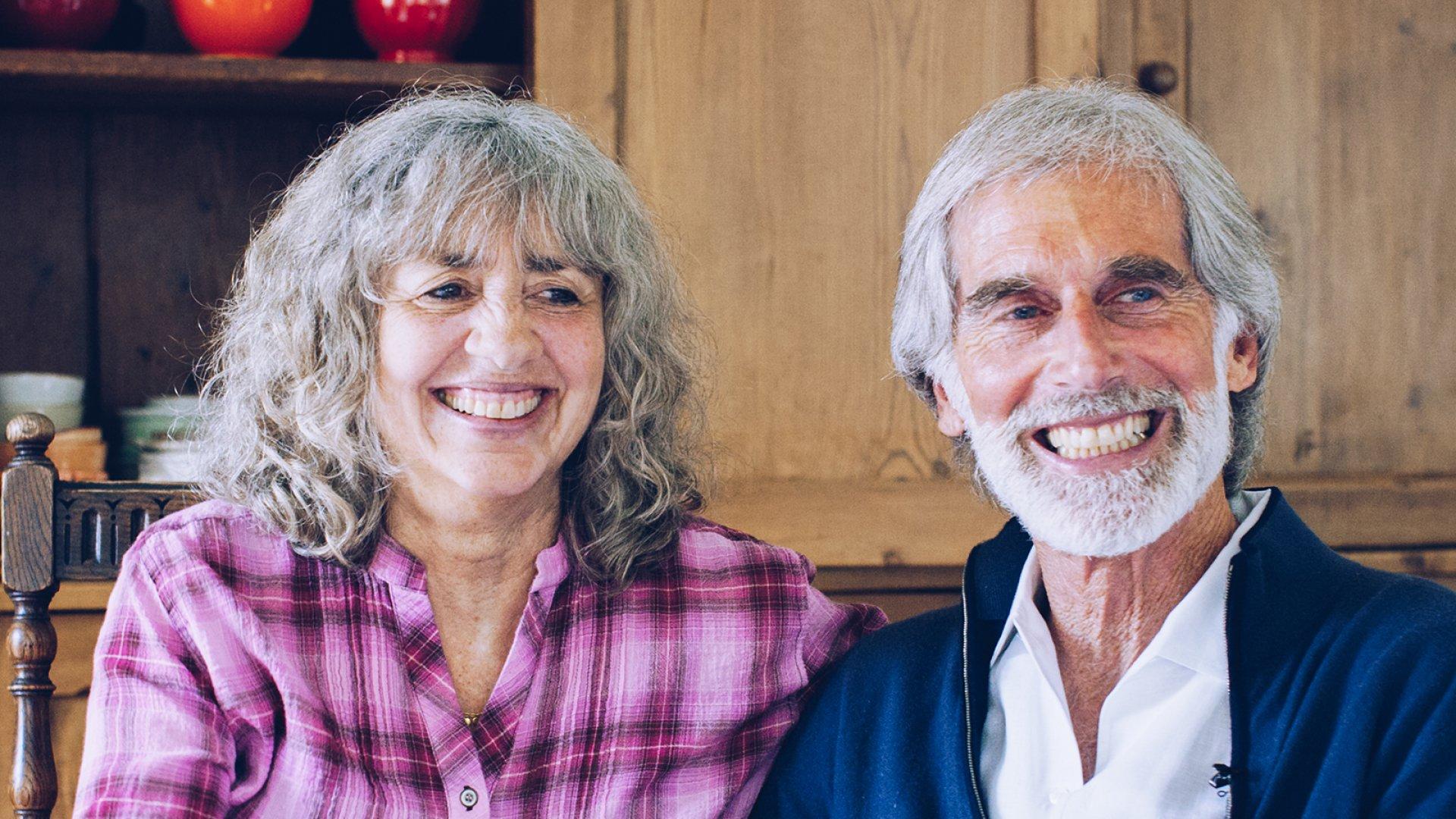 Amy's founders Rachel (left) and Andy Berliner.