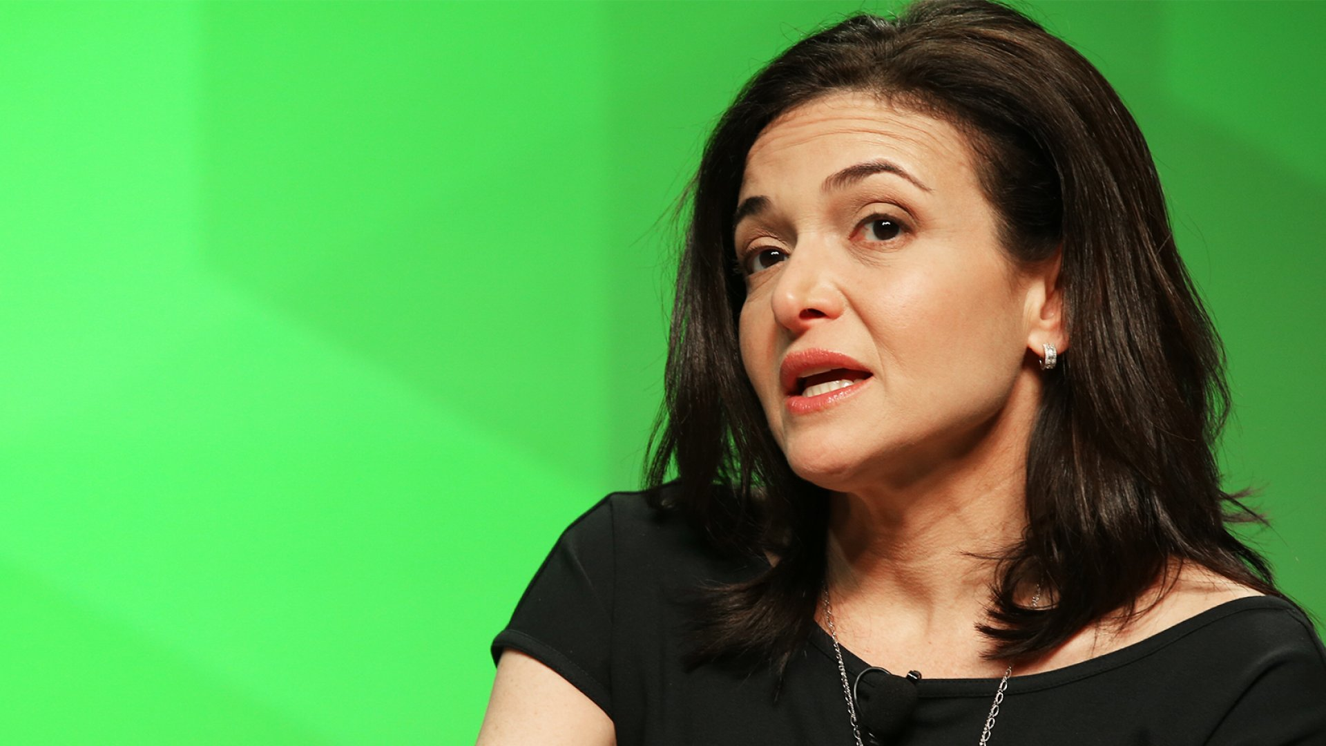 Facebook COO Sheryl Sandberg at <em>Inc.</em>'s GrowCo summit.