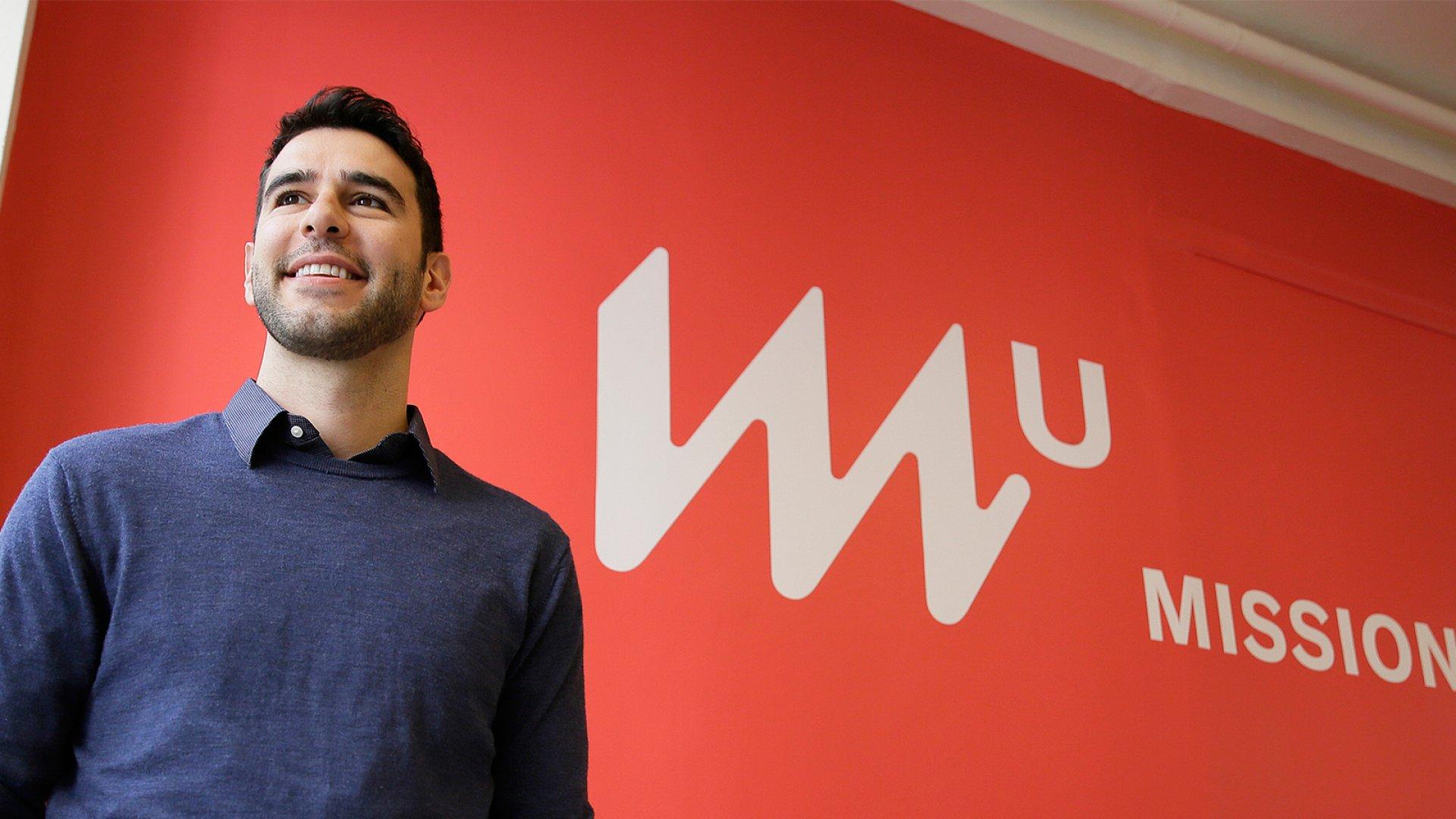 MissionU founder Adam Braun.