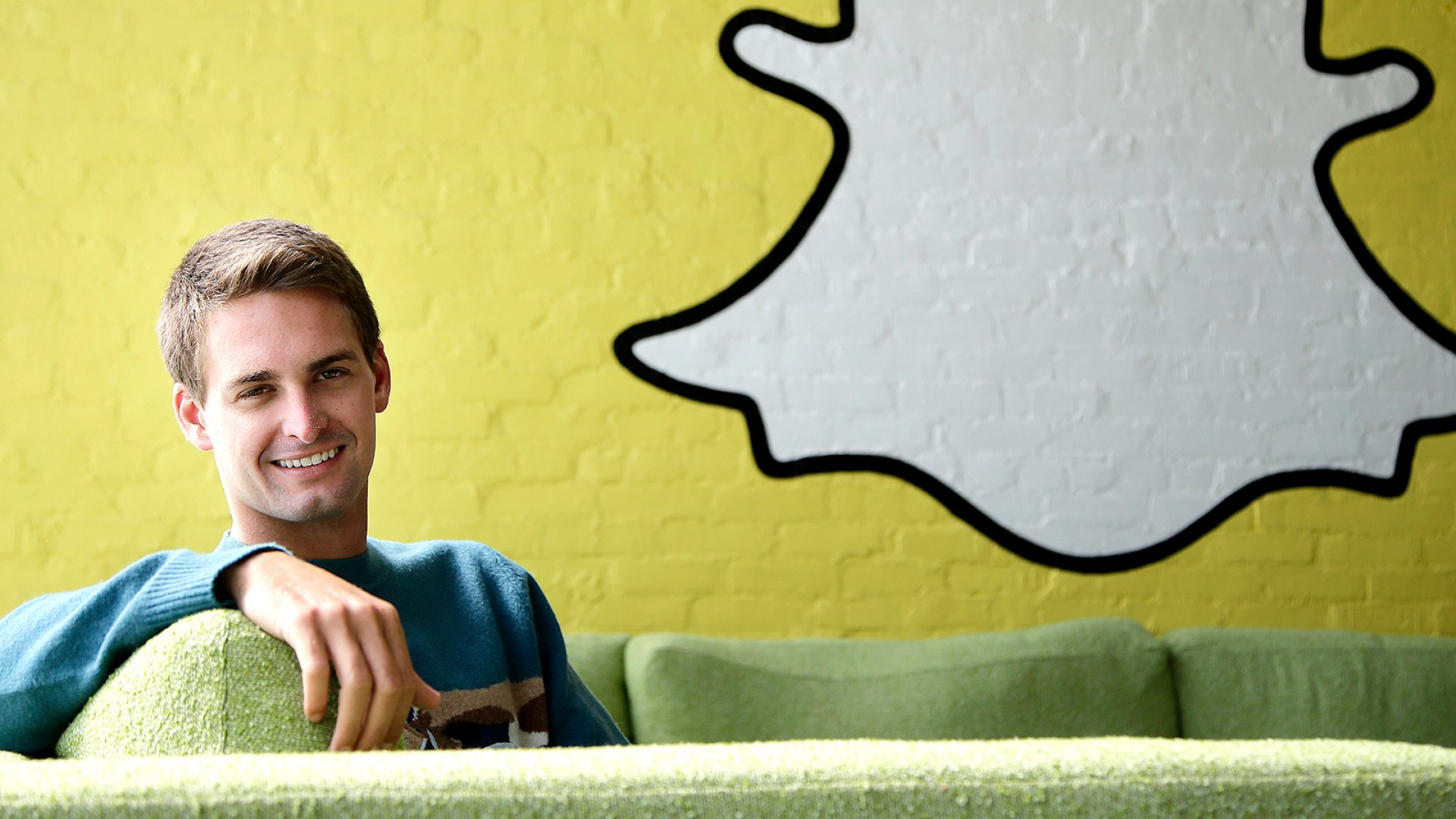 Evan Spiegel, co-founder and CEO of Snapchat.