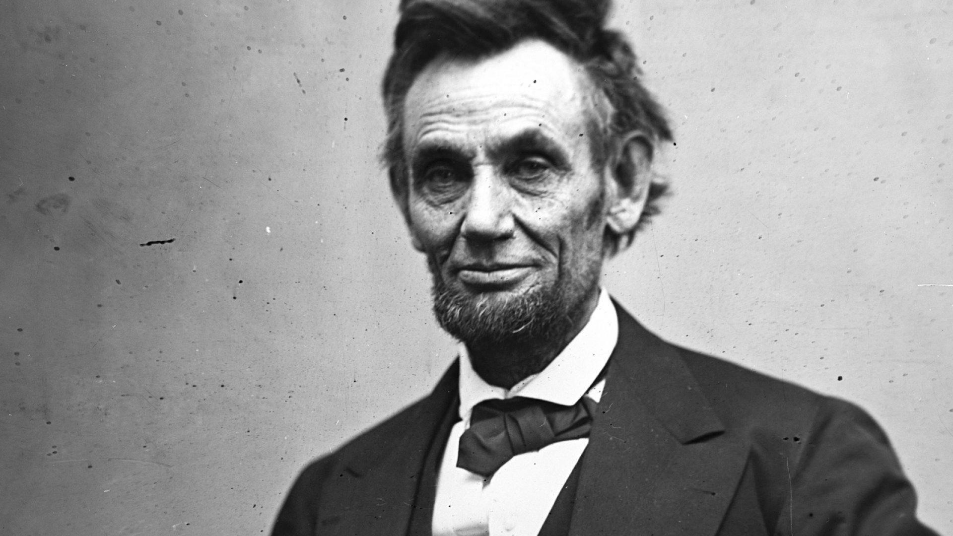 A Harvard Historian Reveals 7 Ways You Can Lead Like Abraham Lincoln | Inc.com