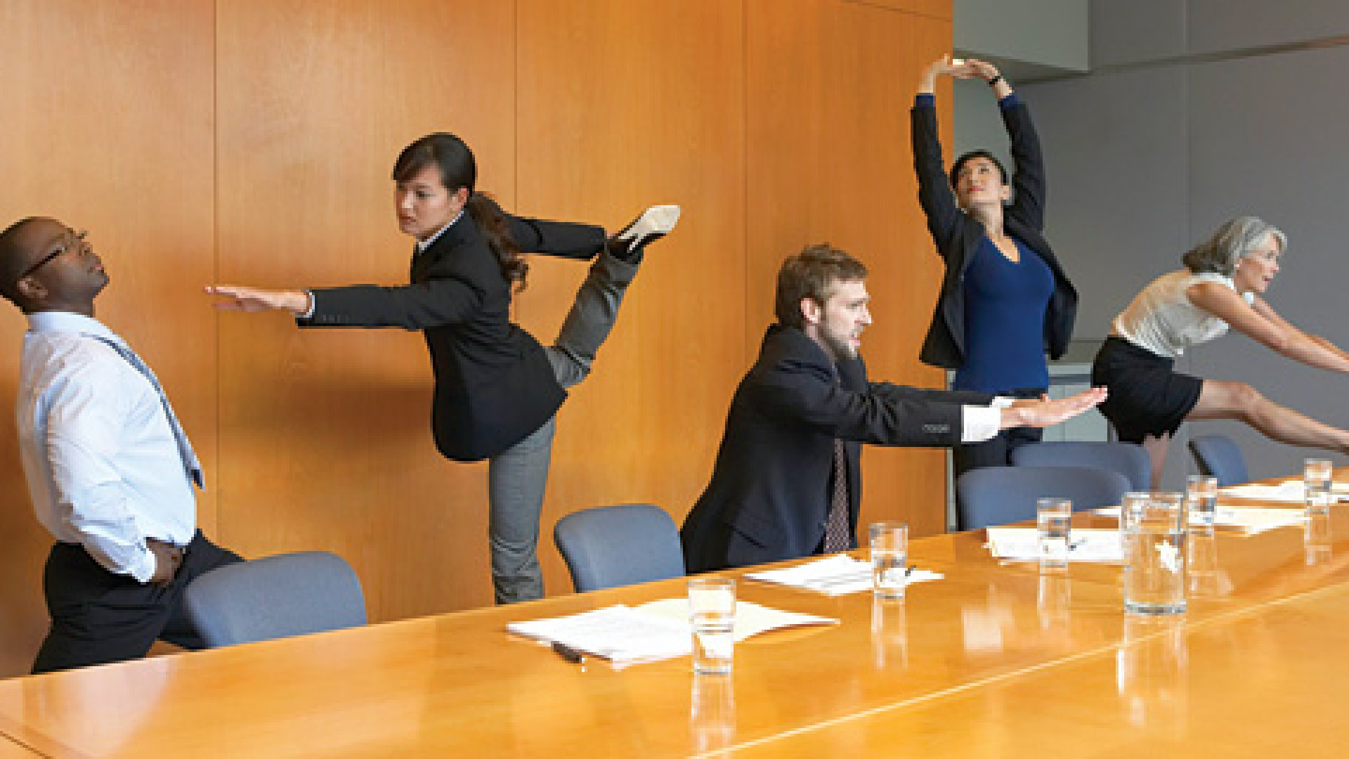 <b>Deskercise:</b> Get out of your seat. You just might improve your health--and increase your productivity.</b>