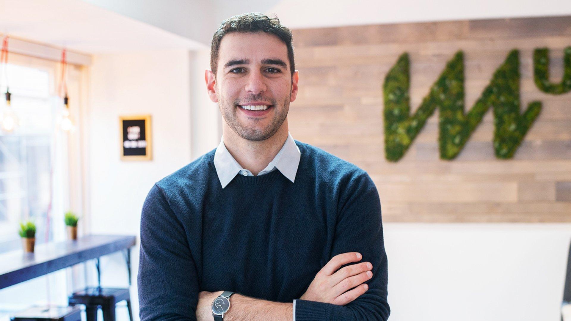 MissionU CEO Adam Braun.