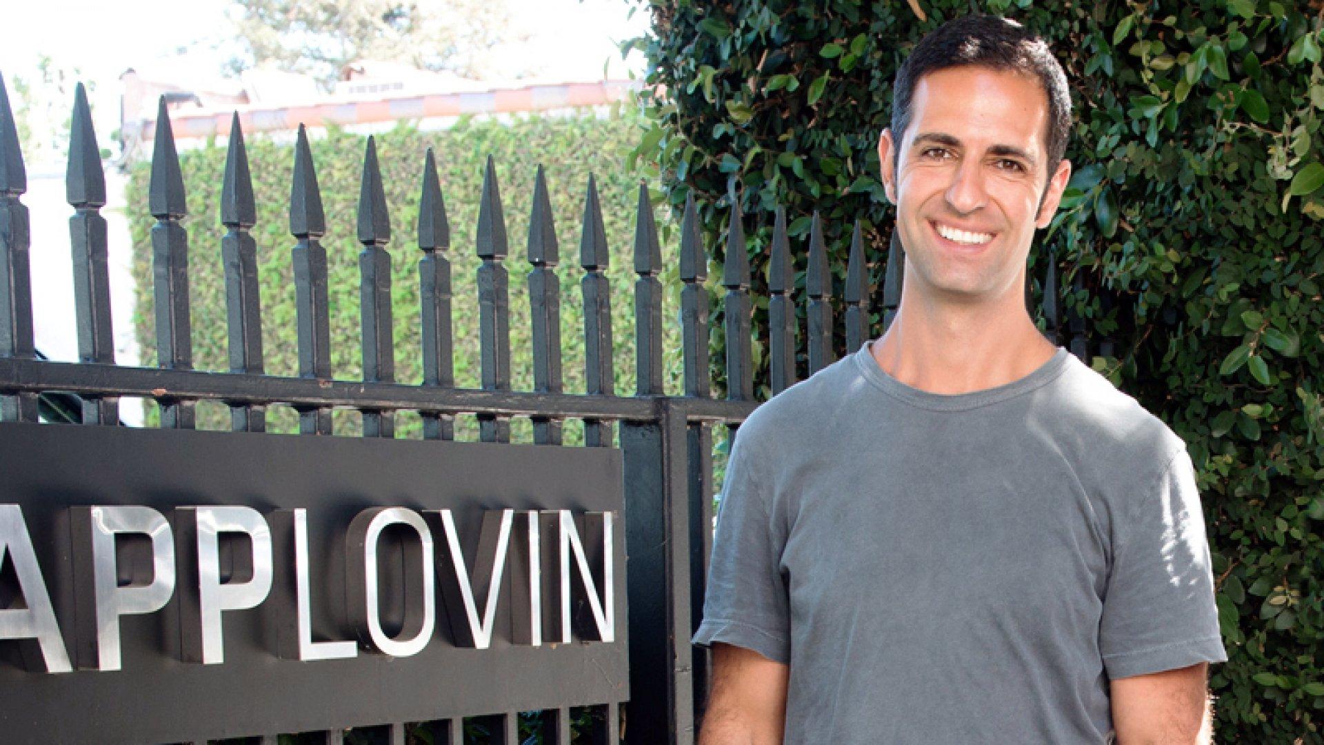 AppLovin CEO Adam Foroughi.