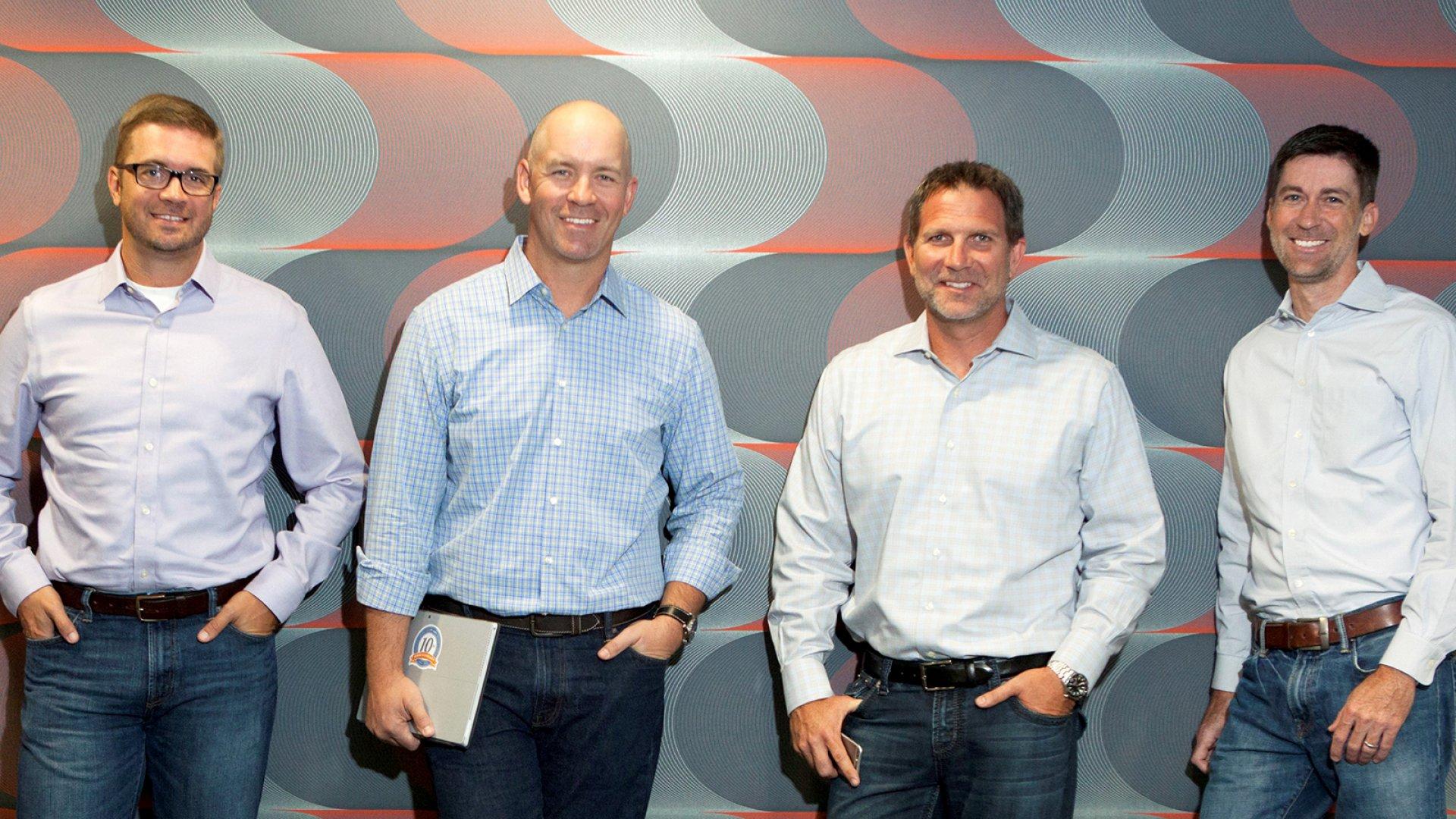 AgileThought leadership Ryan Dorrell, David Romine, Jeff Alagood, and John Wagner.