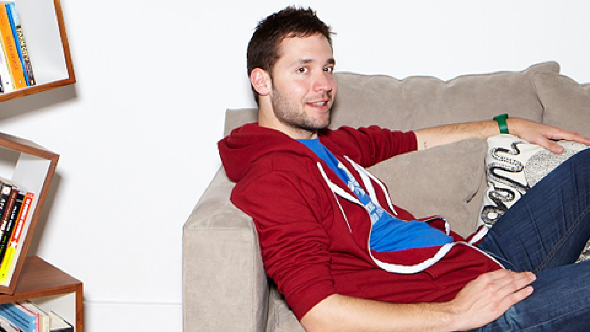 """""""I want to stay hungry,"""" says Alexis Ohanian. """"I really believe my resources are best used to help projects that make the world suck less."""""""