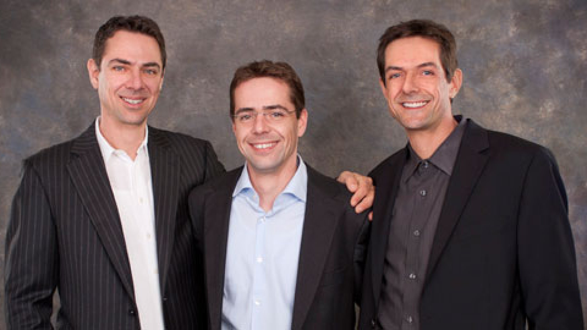 KG Technologies is run by the third generation of Gruners. From left to right, Wolfgang, Philipp, and Thomas Gruner.