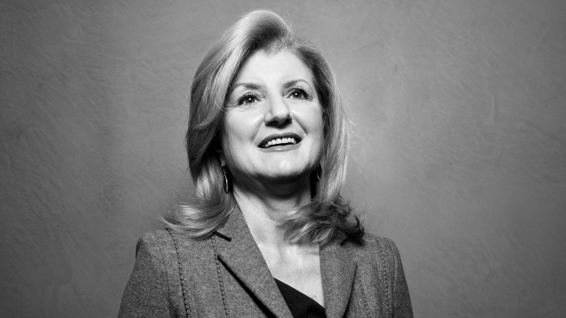 Arianna Huffington relies on data but still trusts her gut for critical decisions.