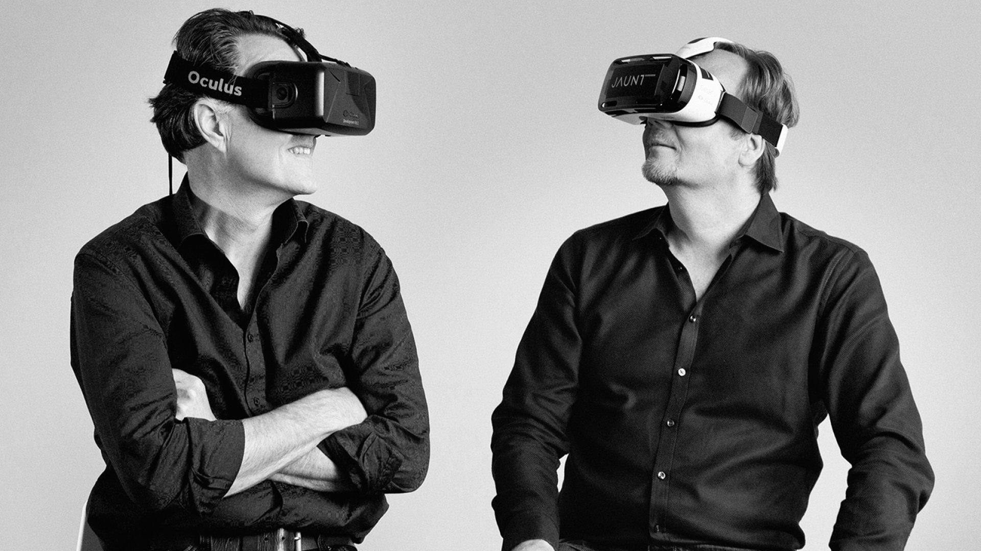 Jaunt co-founders Arthur Van Hoff and Jens Christensen.