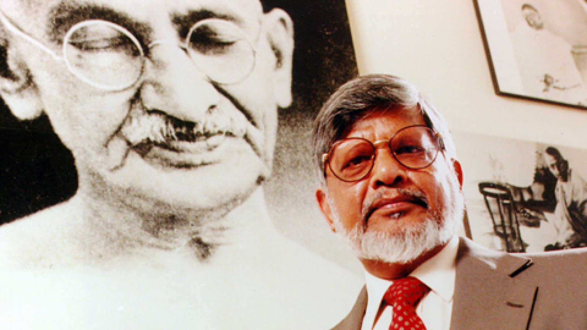 Arun Gandhi, founder of the M.K. Gandhi Institute for Nonviolence in Memphis, Tennessee, says nonviolence begins